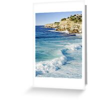 The Morning Surf 1 Greeting Card