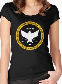 The Department of Unified Protection Women's Fitted Scoop T-Shirt