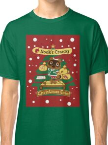 Tom Nook's Christmas Sale Classic T-Shirt