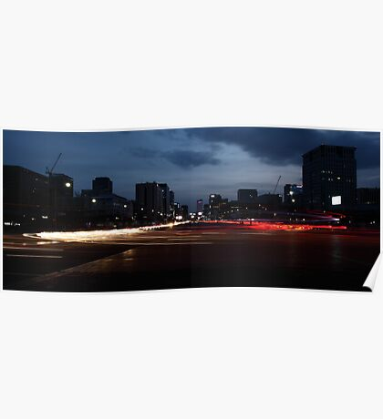 Seoul Rush Hour Poster