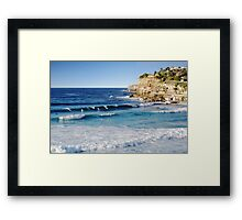 The Morning Surf 2 Framed Print