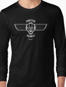 Sportster Sickness - USA Long Sleeve T-Shirt