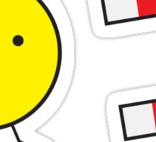 Chick Magnet Sticker