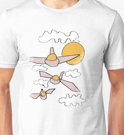 strange aeroplanes Unisex T-Shirt