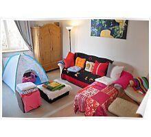 cozy livingroom... Poster