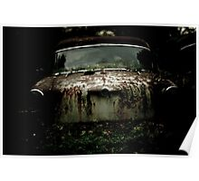 The Car Cemetery Poster