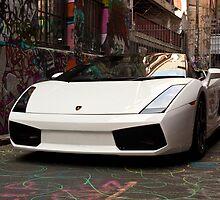 Lamborghini Contach by Sam Tabone