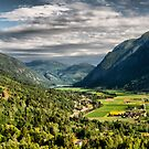 View of the valley by geirkristiansen