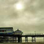 Blackool Pier and Tower in the fog by Rick  Senley