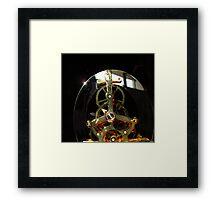 Clock Guts Framed Print