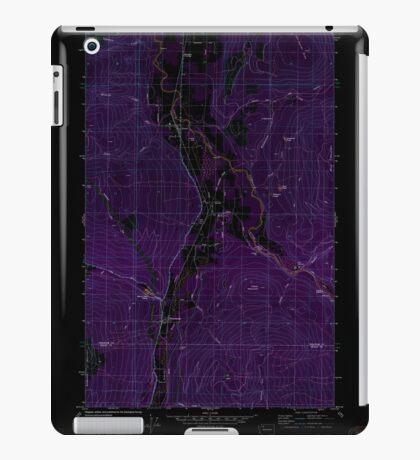USGS Topo Map Washington State WA Acme 239726 1980 24000 Inverted iPad Case/Skin