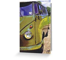 Green Berret Greeting Card