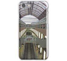 Platforms, Antwerp Railway Station, Belgium iPhone Case/Skin