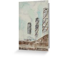City Stacks Greeting Card