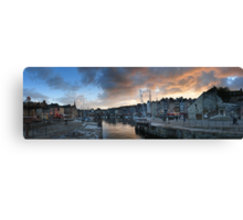 The small port Canvas Print