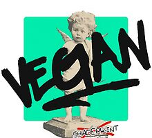 I DON'T EAT MEAT! by shadeprint