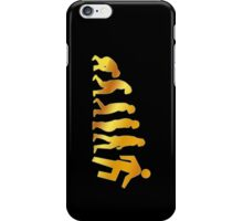 Evolution of Shufflining 2 iPhone Case/Skin