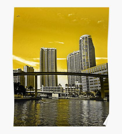 First City - Miami Poster