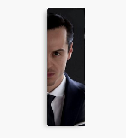 BBC Sherlock James Moriarty Painting Canvas Print