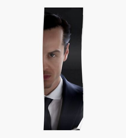 BBC Sherlock James Moriarty Painting Poster