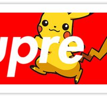 SUPREME PICACHU  Sticker