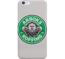 Arboks koffing pokemon starbucks parody iPhone Case/Skin
