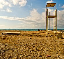 Palaio Faliro Beach II by Clockworkmary