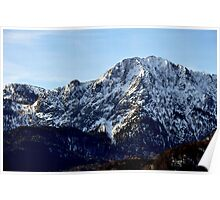 europe, germany, majestic mountain Poster