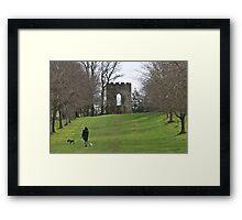 A walk in Spring Hill Framed Print