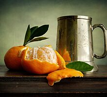 Still Life with Mandarins by Heather Prince
