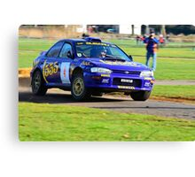1996 Subaru Impreza Canvas Print