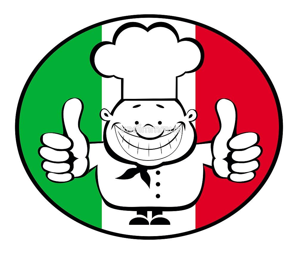 Happy chef logo   by vadimmmus