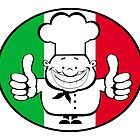 Happy chef logo   by vadimmmus