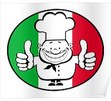 Happy chef logo   Poster