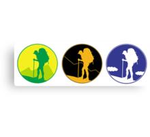Adventure emblem   Canvas Print
