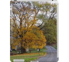 The Big Yellow Tree iPad Case/Skin