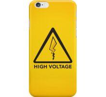 High Voltage iPhone Case/Skin