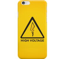 High Voltage iPhone Case/Skin