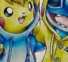 Pika& Stitch Sticker