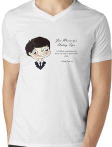 Moriarty's Dating Advice Mens V-Neck T-Shirt