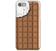Is that a chocolate bar? I want a bite! iPhone Case/Skin
