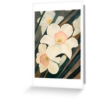 Narcissus Flowers in the Early Garden Greeting Card