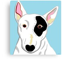 Bull Terrier Canvas Print