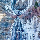 Bridal Veil Falls - February 2012 (cropped) by Brian D. Campbell
