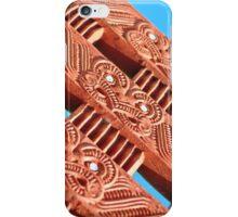 Maori Carvings - iphone iPhone Case/Skin