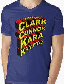 The Adventurous Mens V-Neck T-Shirt