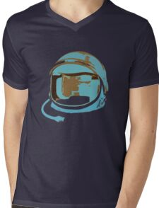 Space Gear Mens V-Neck T-Shirt