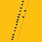 Birds on a wire - iphone by mattslinn