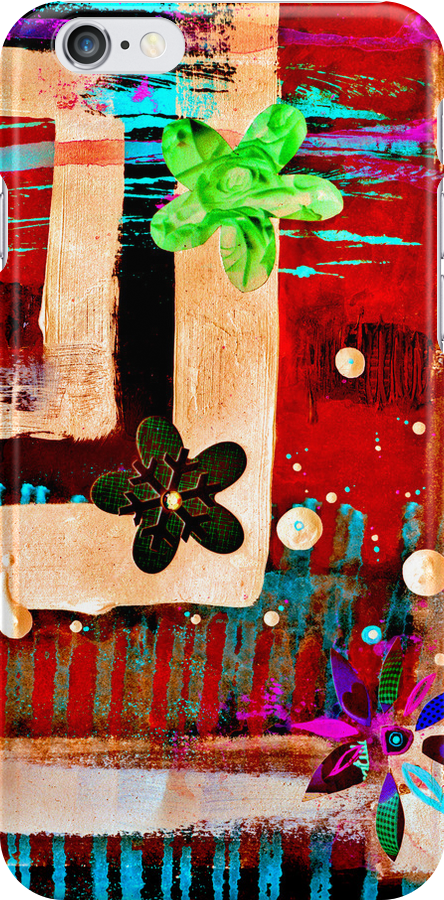 My Secret Garden Remix iPhone/iPod Case by Jay Taylor