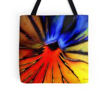 Far Out Pansy Tote Bag